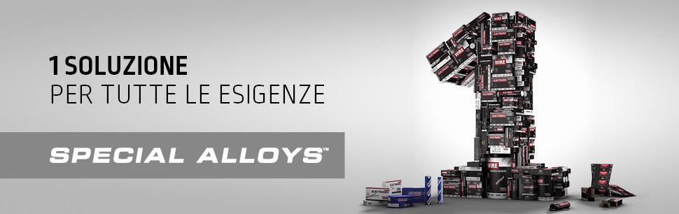 Special Alloys: piu' soluzioni speciali, 1 unico brand